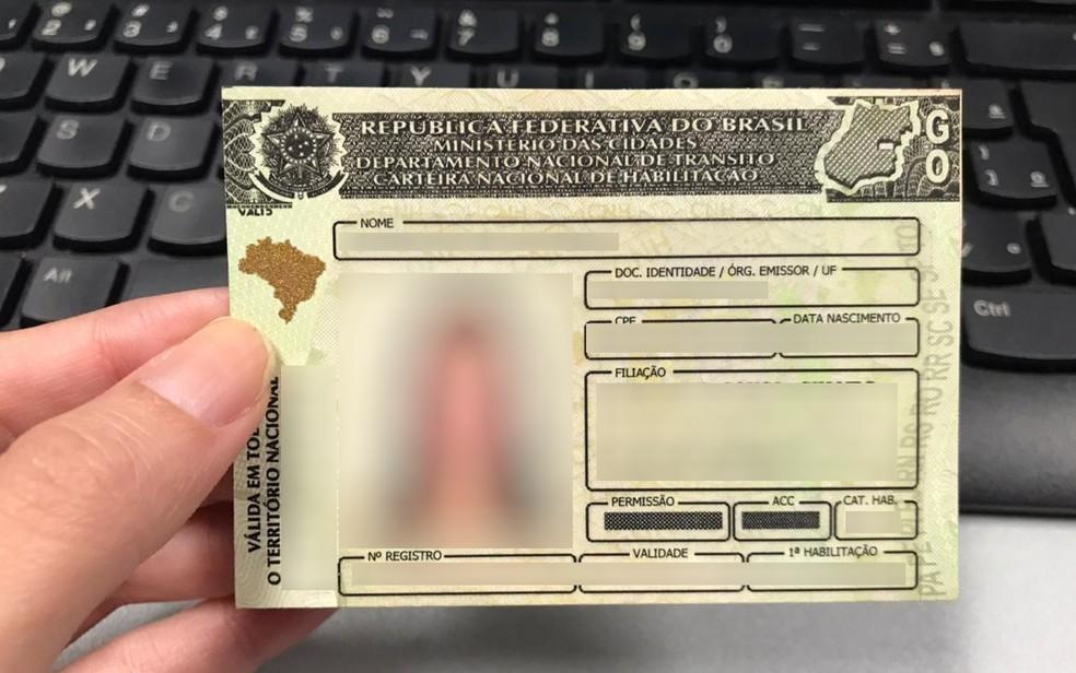 Inscrições para CNH Social já estão abertas em Goiás  — Foto: Vanessa Chaves/G1