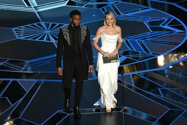 Chadwick Boseman e Margot Robbie  (Foto: Getty Images)