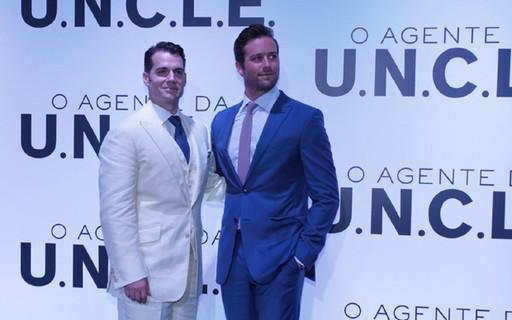 Henry Cavill e Armie Hammer lançam 'O Agente da U.N.C.L.E.' no Rio - Quem |  QUEM News