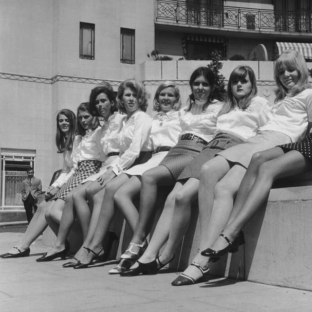 Minissaia na década de 1960 (Foto: Getty Images)