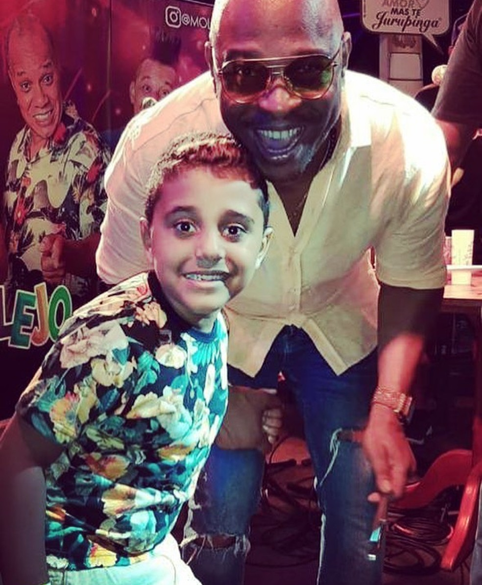 George e Jimmy: 'Não vou deixar para lá e virar as costas para o meu filho' — Foto: Reprodução/Redes sociais