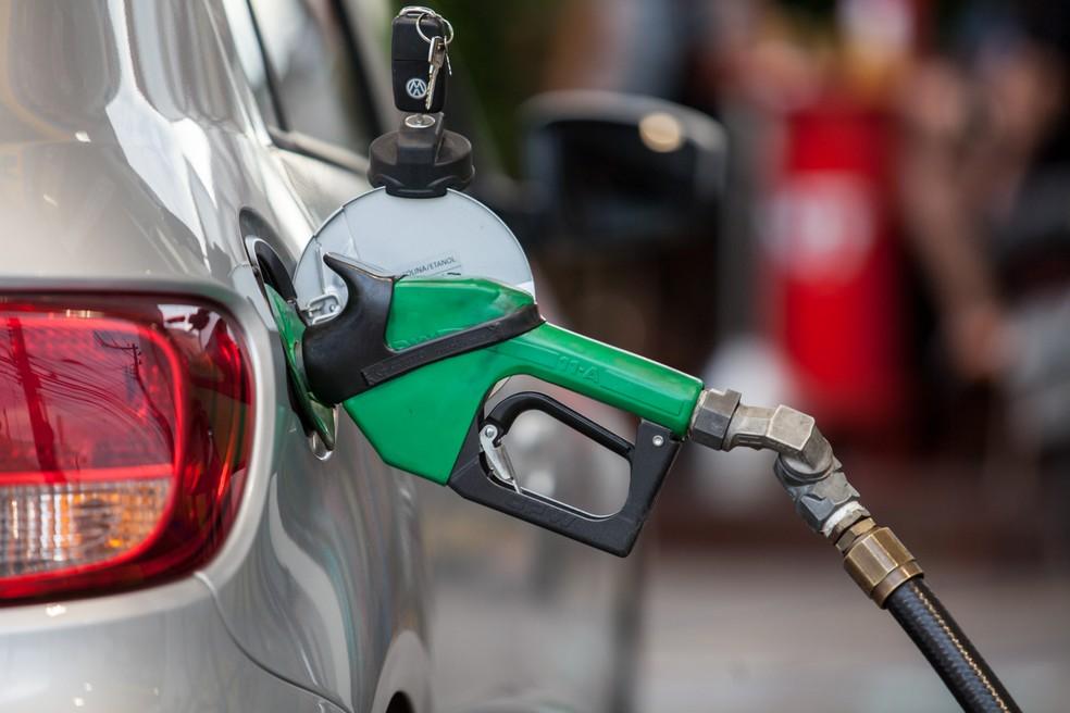 Preços dos combustíveis tiveram alta na semana — Foto: Marcelo Brandt/G1