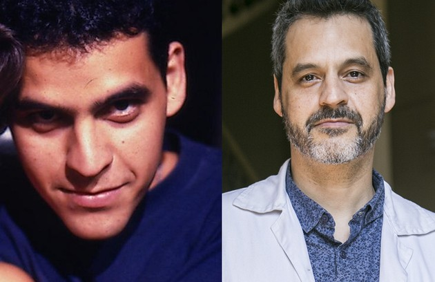 Bruno Garcia foi Luiz, noivo de Selma. Ele estará na quarta temporada da série 'Sob pressão' (Foto: Reprodução e Globo)