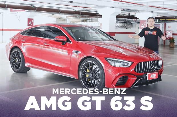 Os truques do Mercedes-AMG GT 63 S quatro portas para enfrentar o Porsche Panamera (Foto: Autoesporte)