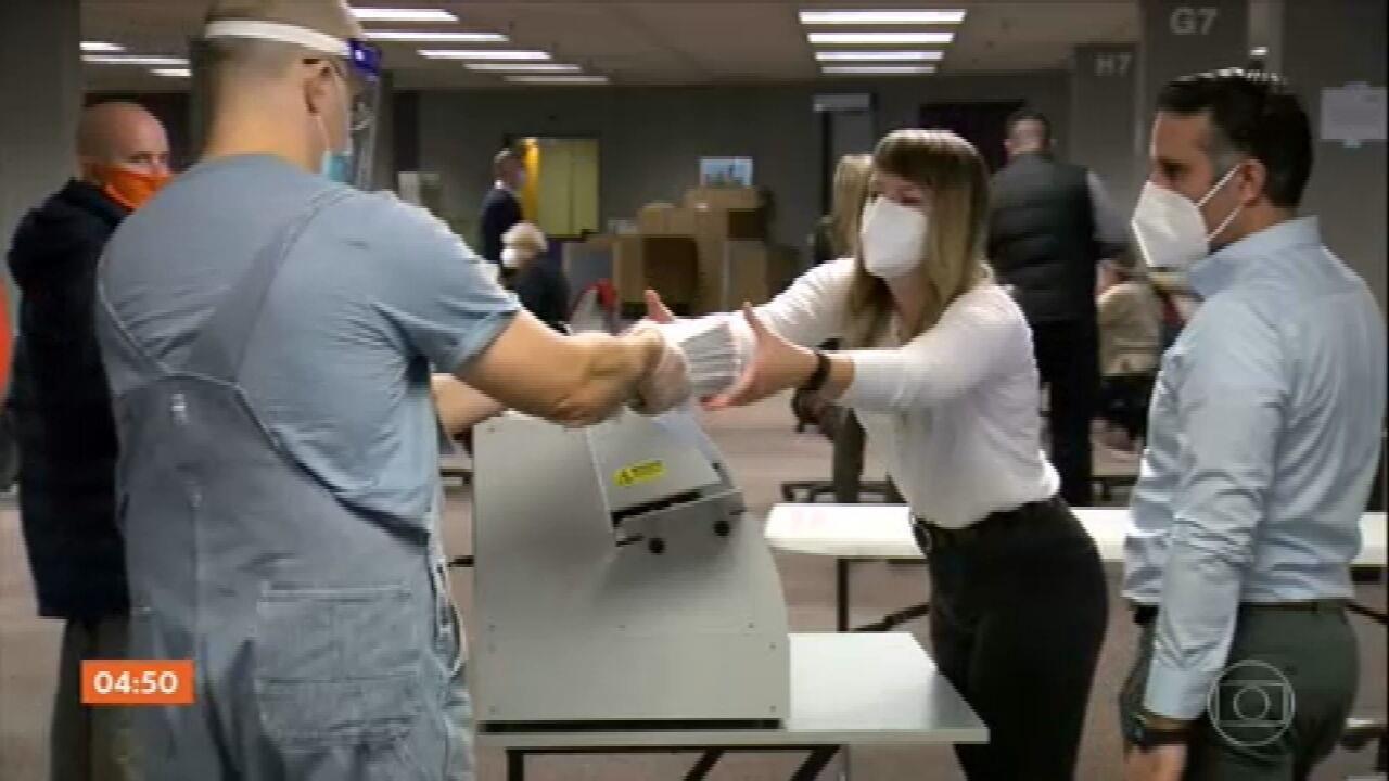 Recontagem manual dos votos na Geórgia confirma vitória de Joe Biden