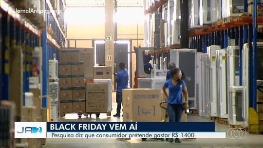 Comércio já se prepara para as vendas na Black Friday, em Goiânia