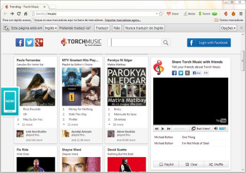 Torch Browser   Download   TechTudo