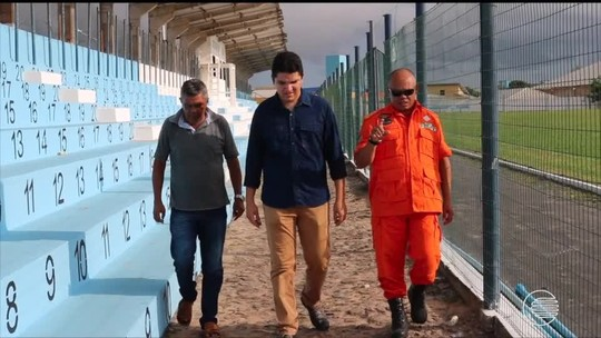 A poucos dias do estadual, Pedro Alelaf, casa do Parnahyba, recebe laudo do Corpo de Bombeiros