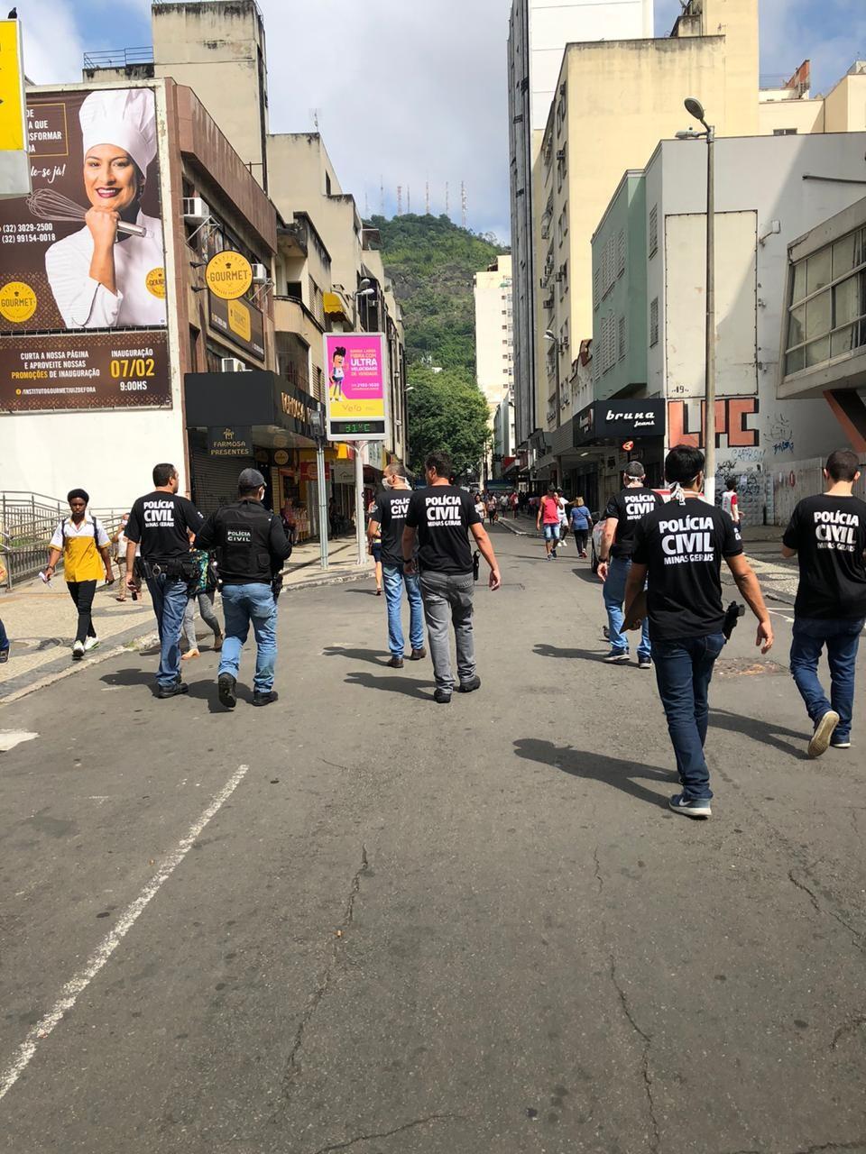 Polícia Civil e Procon fiscalizam estabelecimentos comerciais em cidades da Zona da Mata