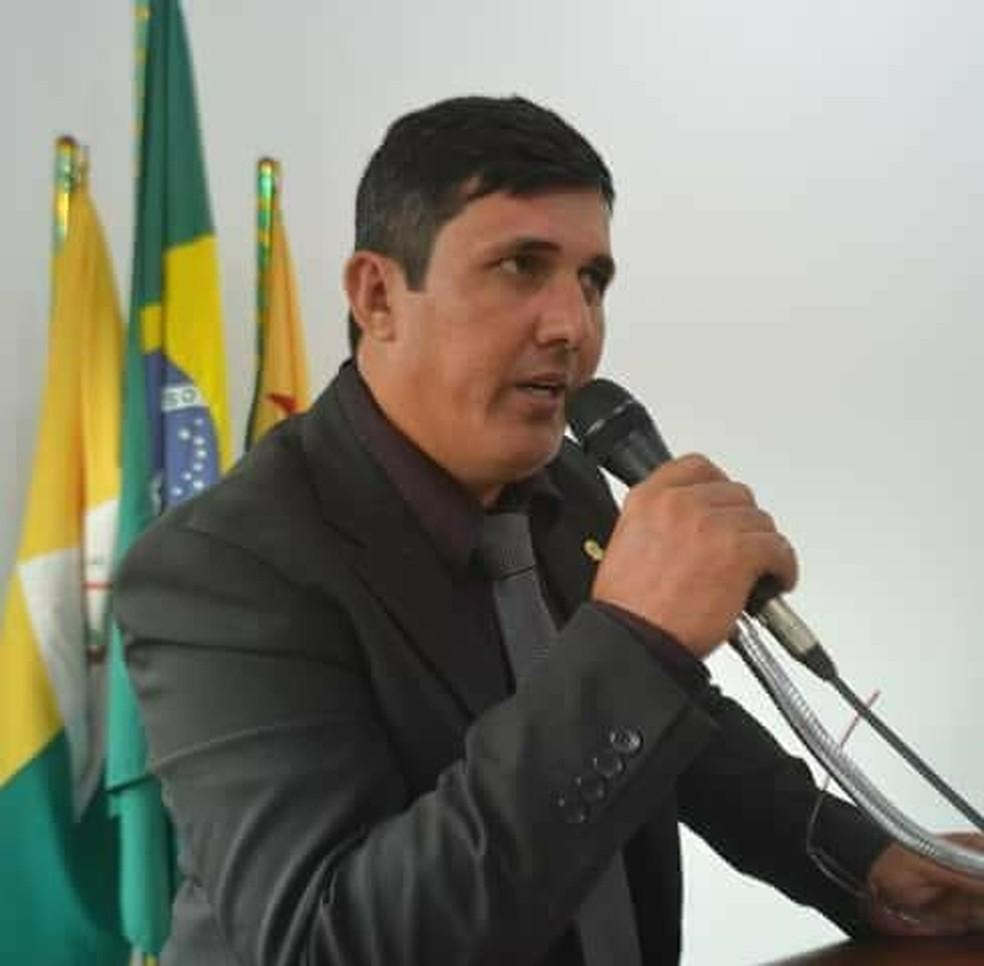 Gilson da Funerária é alvo de CPI na Câmara de Vereadores de Senador Guiomard, no interior do Acre — Foto: Arquivo pessoal