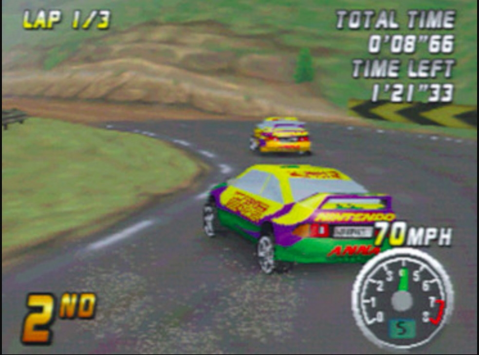 Top Gear Rally marcou estreia no N64 — Foto: Reprodução/Felipe Vinha