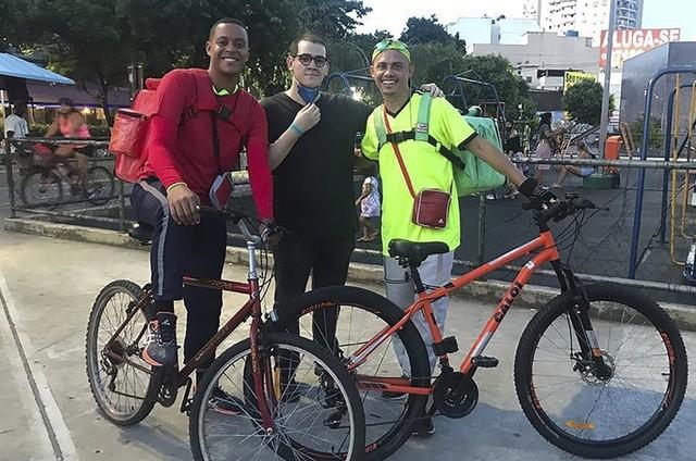 Silvero Pereira, Leonardo Martinelli e Dennis Pinheiro  (Foto: Arquivo pessoal)