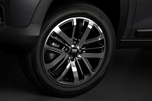 Detail, Fiat, road, wheel (Photo: Disclosure)