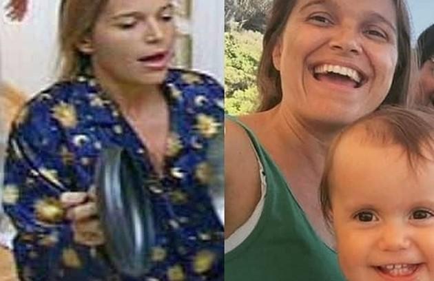 """No """"BBB"""" 2, Tina rivalizou com a casa inteira e entrou para a História do reality ao bater panela para acordar os colegas. Atualmente, mora em Barcelona e tem dois filhos (Foto: Reprodução)"""