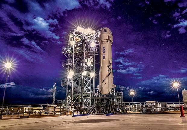 Operações da Blue Origin, de Jeff Bezos. A empresa tem uma nova missão (Foto: Blue Origin/Divulgação)