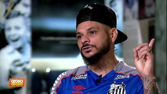 Pará relembra os perrengues da carreira; Santos enfrenta o Atlhetico-PR