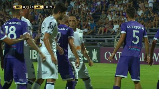 Assista aos melhores momentos de Defensor 0 x 2 Atlético-MG