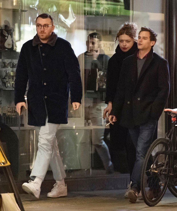 Brandon Flynn e Sam Smith (Foto: The Grosby Group)