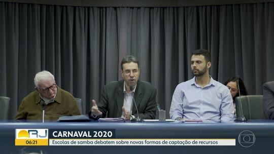Escolas de samba do RJ discutem alternativas de captação para o carnaval 2020