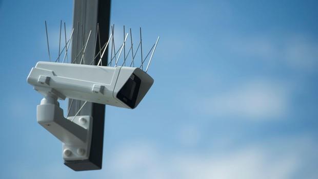 Imagem ilustrativa de câmera de segurança (Foto: Steffi Loos/Getty Images)