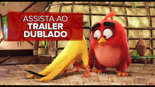 'Angry birds' surpreende ao adaptar game com pássaros raivosos
