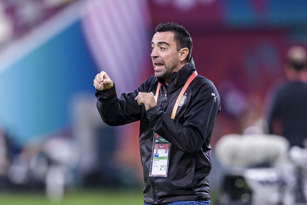 Xavi não deve renovar com o Al Sadd; caminho livre para o Barcelona? — Foto: Getty Images