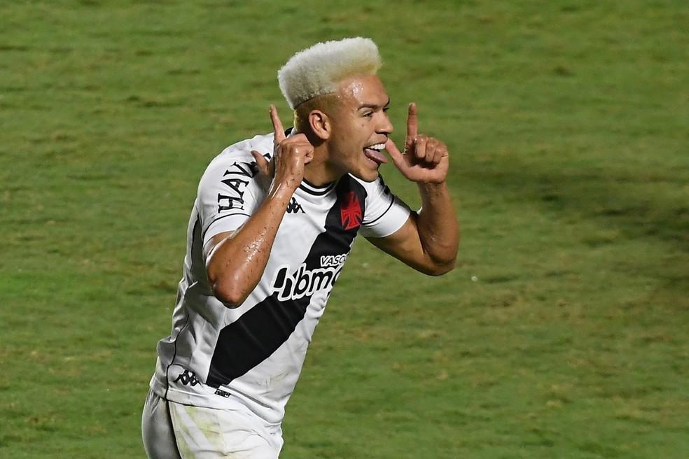 Marquinhos Gabriel é o vice-artilheiro do Vasco na temporada, com seis gols marcados — Foto: Alexandre Durão