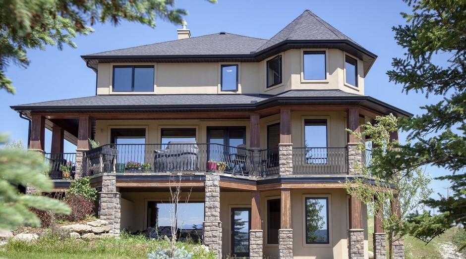 Por R$ 70, você pode se inscrever em um concurso para ganhar essa mansão no Canadá (Foto: Divulgação)