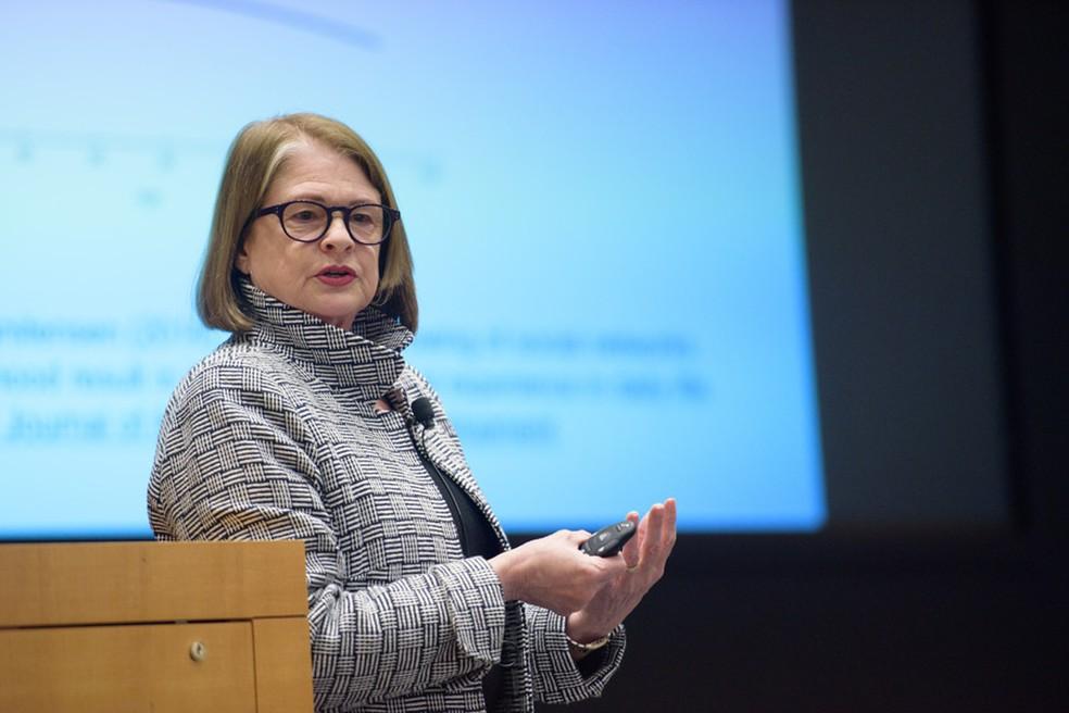 Laura Carstensen, diretora do centro de longevidade da Universidade de Stanford, na Califórnia — Foto: Divulgação