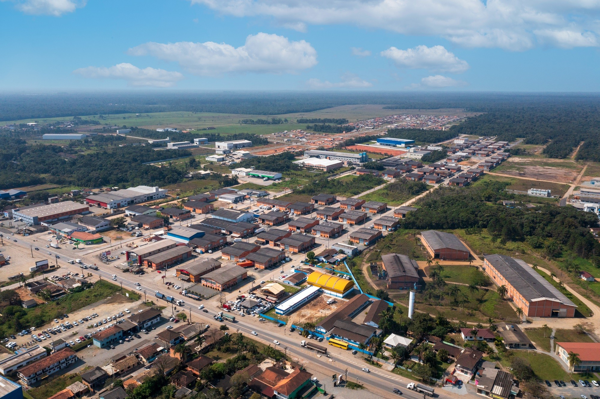 Incentivos fiscais e menos burocracia são atrativos para deseja abrir uma empresa em empresas em Araquari