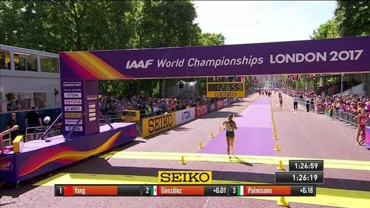 Erica Sena evita exclusão no fim e leva 4º lugar histórico na marcha de 20km
