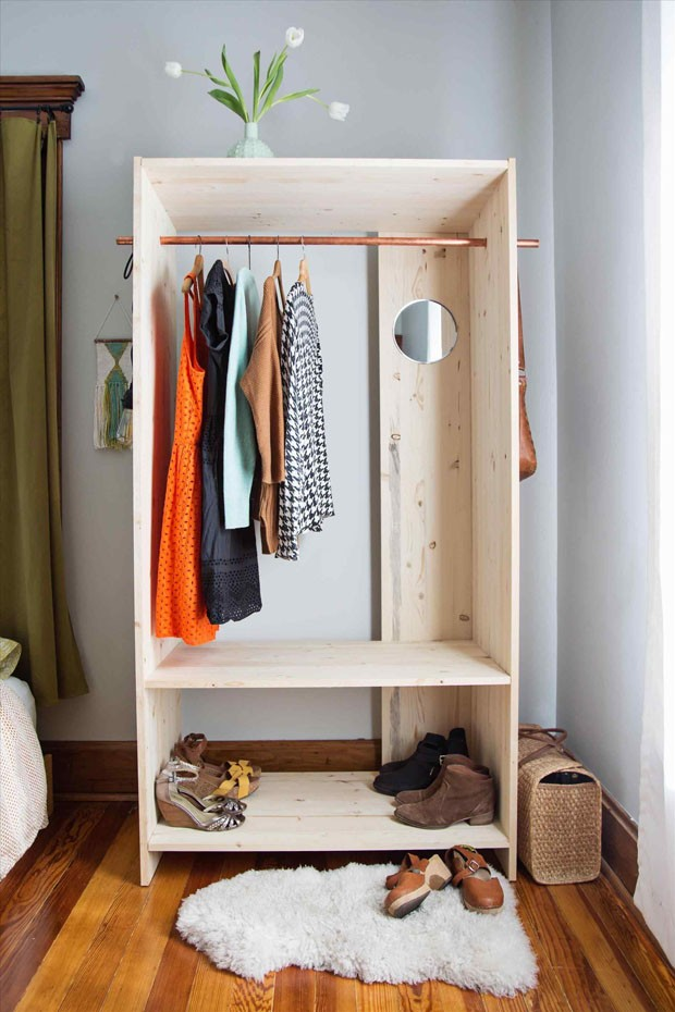 Guarda Roupa Aberto Como Fazer O Seu Casa Vogue Ambientes