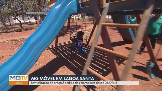 MG Móvel está em Lagoa Santa para acompanhar obras de revitalização em praça