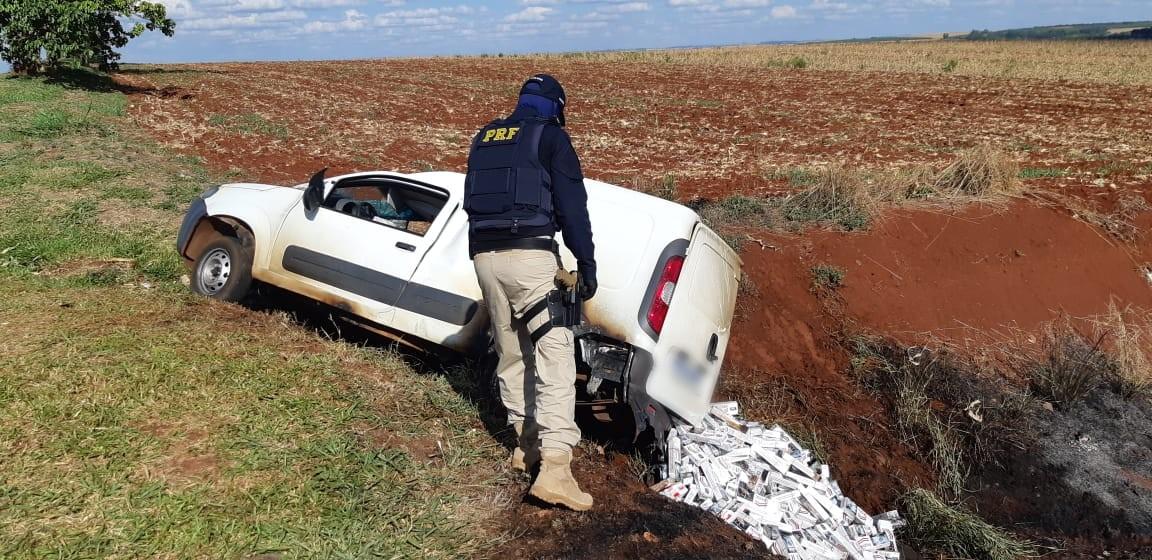 Motorista é preso com mais de 35 mil carteiras de cigarros contrabandeados, na BR-369