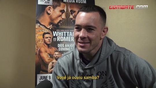 """Em """"quiz"""" sobre o Brasil, Covington tira sarro do 7 a 1 e pede contato de Anitta"""