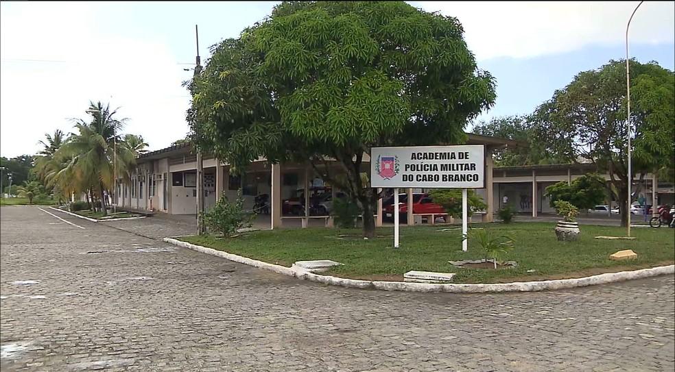 Sargento José Lúcio foi morto por outro PM dentro do alojamento do Centro de Educação da Polícia Militar, em João Pessoa (Foto: Reprodução/TV Paraíba)