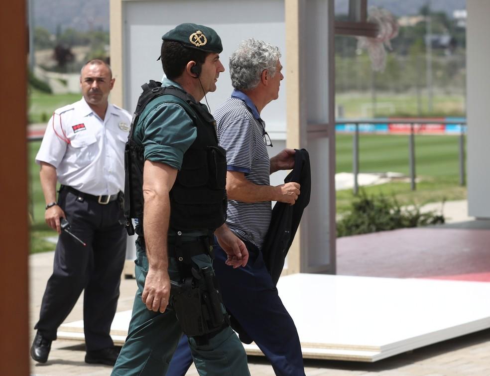 Angel Maria Villar foi preso na Espanha na semana passada (Foto: Reuters)