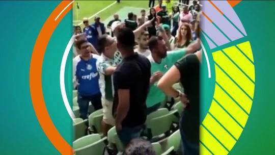 Polícia identifica e indicia torcedores do Palmeiras que expulsaram dois homens da arena