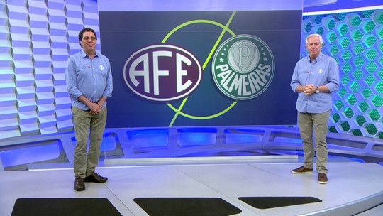 Vídeo: Casagrande e Milton Leite analisam empate do Palmeiras