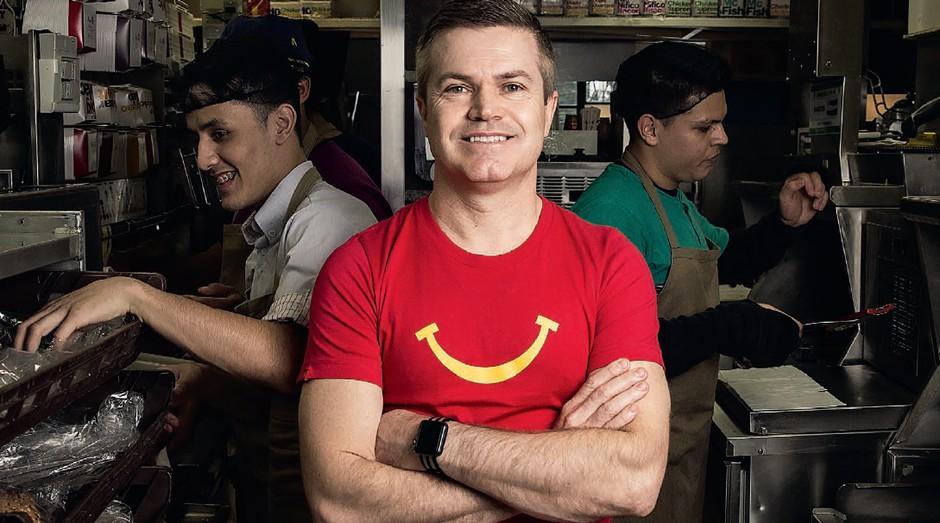Paulo Camargo, presidente da divisão Brasil da Arcos Dorados, operadora do McDonald's (Foto: Durval Lima)