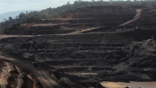 Vista geral do complexo de Carajás - Vale - mineração - Pará  (Foto: Lunae Parracho/Reuters)