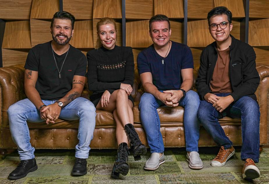 Luiza Possi se junta com o cantor De Maria no álbum 'Submersos'