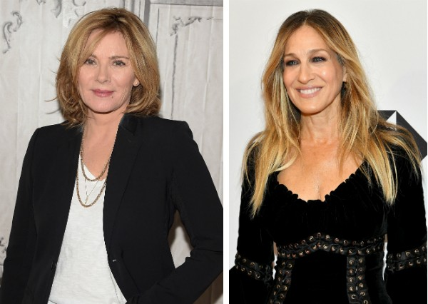 As atrizes Kim Cattrall e Sarah Jessica Parker (Foto: Getty Images)