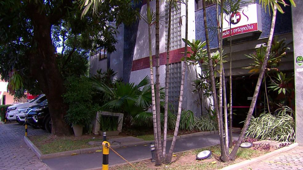 Hospital SOS Mão e Ortopedia, no Recife, é único especializado em cirurgia de mãos no Nordeste (Foto: Reprodução/TV Globo)