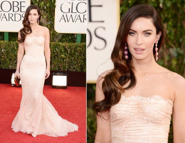 Megan Fox,  a bordo de um modelo by Dolce&Gabbana (Foto: : Getty Images)