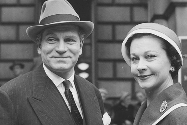 Laurence Olivier e Vivien Leigh (Foto: Getty Images)