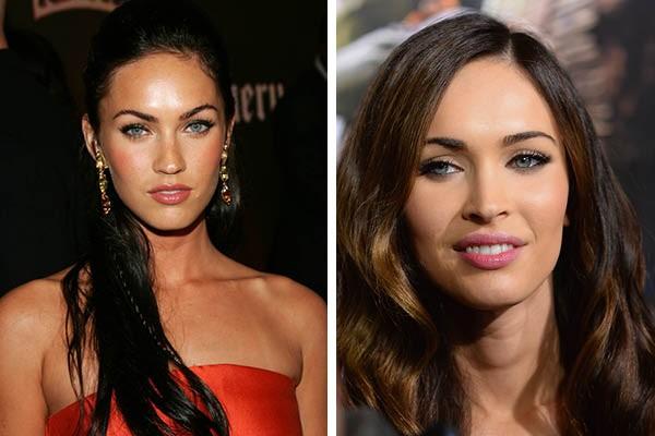 Megan Fox em 2007 e agora (Foto: Getty Images)