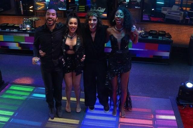 Semifinalistas do 'Big Brother Brasil' 21 (Foto: Reprodução)