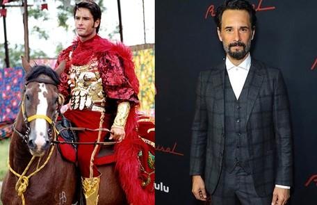 Visto recentemente na terceira temporada de 'Westworld', Rodrigo Santoroviveu o vilão Carlos, que se envolveu num plano para seduzir Cristal e roubar seu tesouro TV Globo - Reprodução/Instagram