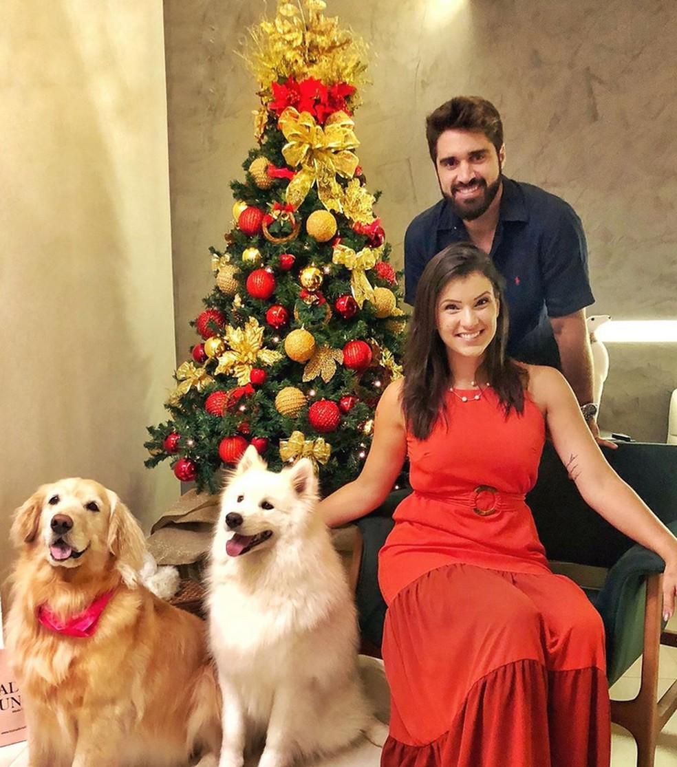 Bruno Schmidt é casado com a publicitária Laís Badaró — Foto: Reprodução da Internet